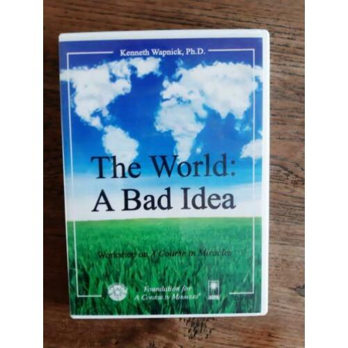The world: a bad idea 2dvd on a course of miracles. zeldzaa