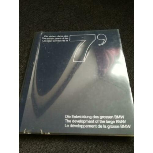 Boek BMW, the 7 years of development of the large BMW
