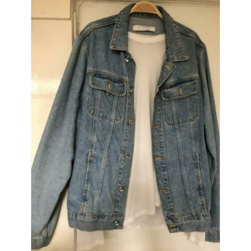 Denim jack size L
