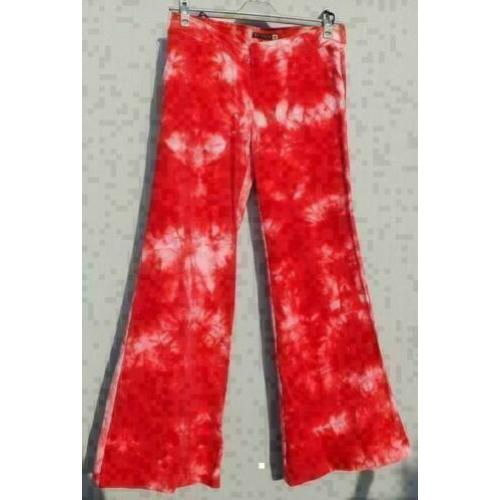 WATCHER koraal/rose batik babyrib broek mt 38