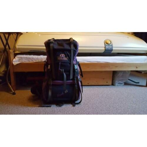 55 liter backpack Hawk
