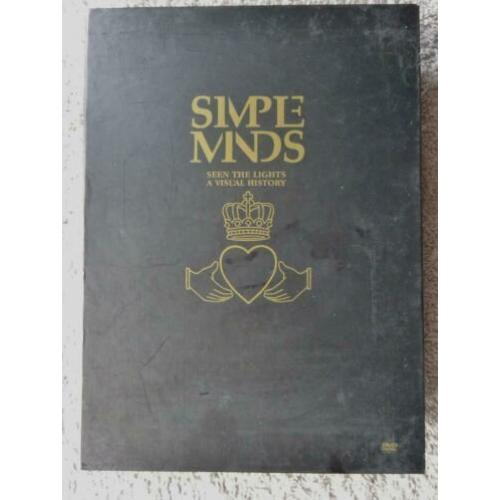 2 DVDs..Simple Minds -- Seen the Lights a Visual History
