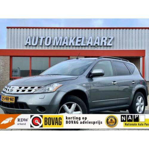 Nissan Murano 3.5 V6 AUTOMAAT 4WD Full Option Leder Camera