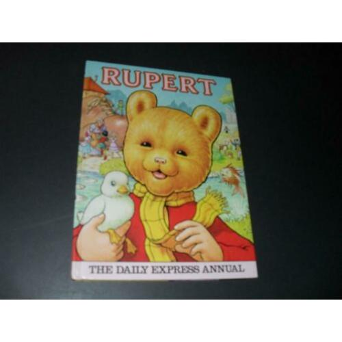 Rupert - The Daily Express Annual HC 1981 Mary Tourtel