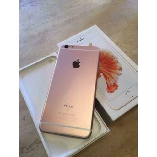 iPhone 6s rose gold 128gb geheugen