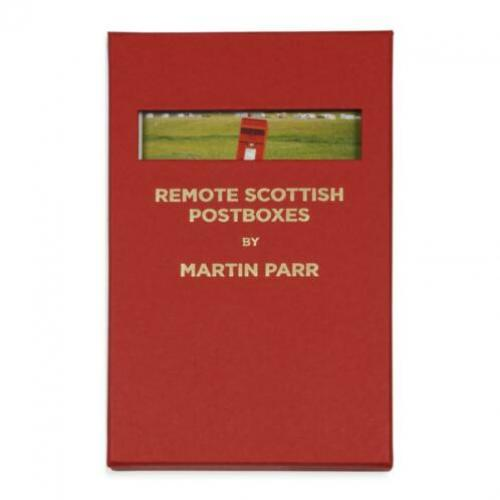 Martin Parr - Remote Scottish Postboxes - postcard book
