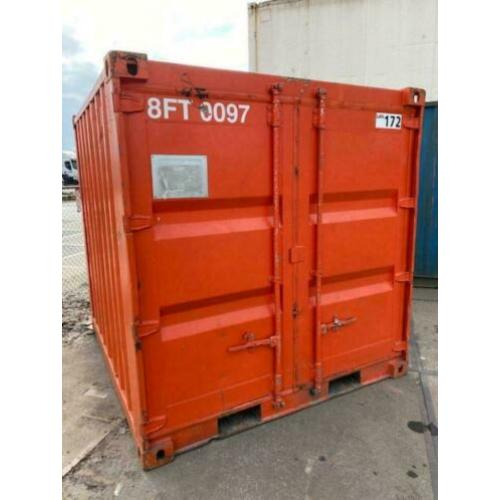 Container 8ft opslagcontainer 8 voet zeecontainer 8ft
