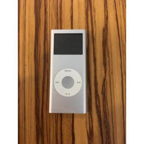 iPod nano 4GB zilver